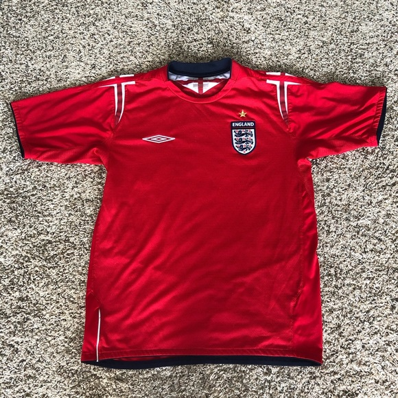 more photos 90c65 65a35 Umbro England National Football Team Jersey, S